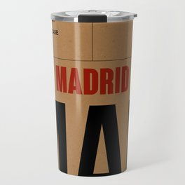 MAD Madrid Luggage Tag 2 Travel Mug