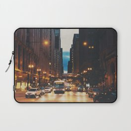 the streets of Chicago ... Laptop Sleeve