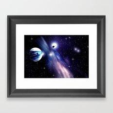 KEPLER - 62 f. Framed Art Print