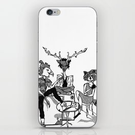 FOREST FOLK iPhone Skin