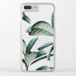 plant pattern Clear iPhone Case