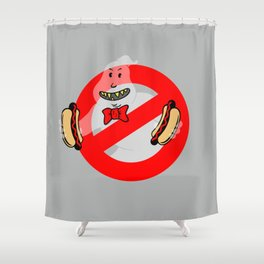 No Ghosts Shower Curtain