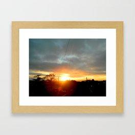 Simply Sunrise Framed Art Print