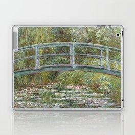 Water Lily Pond (Japanese Bridge) Laptop & iPad Skin