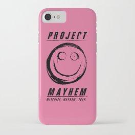 Project Mayhem iPhone Case