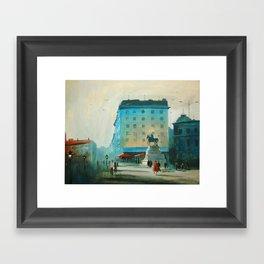 Belgrade V Framed Art Print