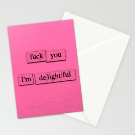 I'm Delightful Stationery Cards
