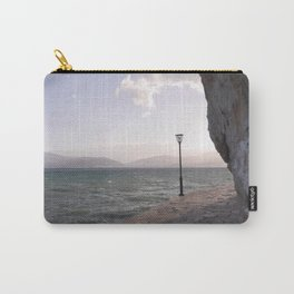 Vintage lamppost I Greece, Nafplio I Rocks and Mountains I Photography Carry-All Pouch