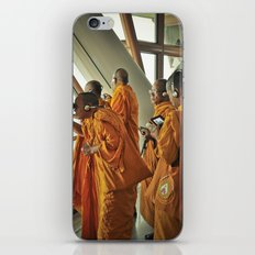 Hi-tech Monks iPhone & iPod Skin