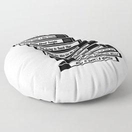 Brooklyn Nine Floor Pillow
