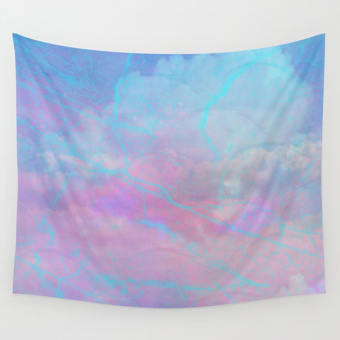 Marble Sky Abstract Wall Tapestry