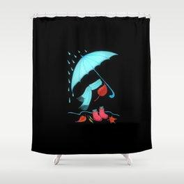 Autumn has come Shower Curtain