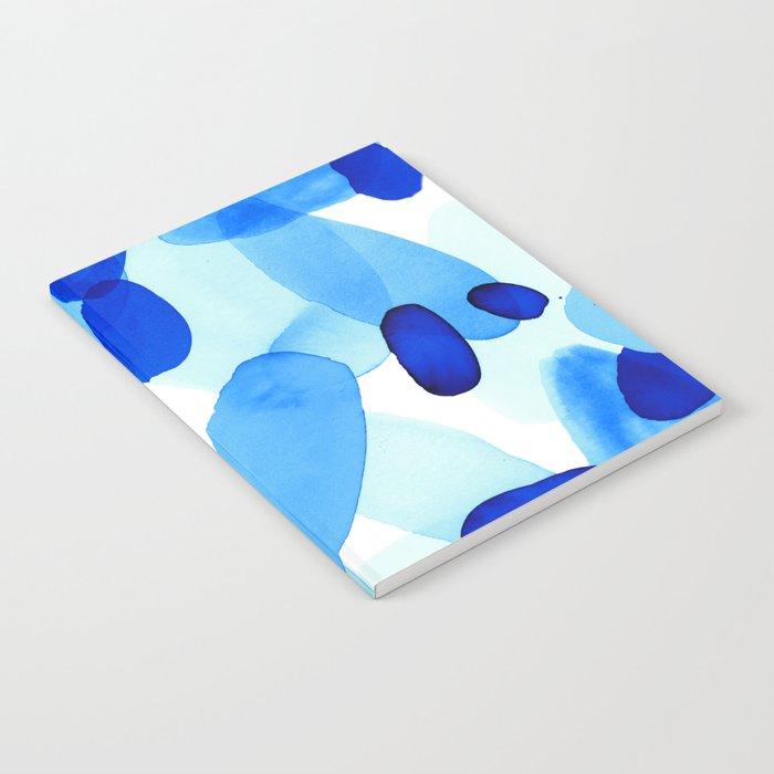 Beach Glass Blue Notebook
