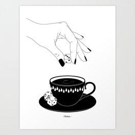 How Many Addictions Art Print
