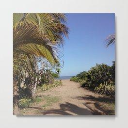 Off to  the Beach, Rincon, Puerto Rico Metal Print