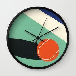 Arizona Tennis Club II Wall Clock
