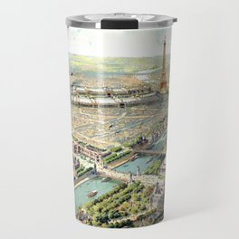 Paris World Fair 1900 Travel Mug