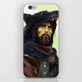 Hannibal - Ladyhawke AU iPhone Skin