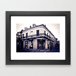 One Day on Rue Royale Framed Art Print