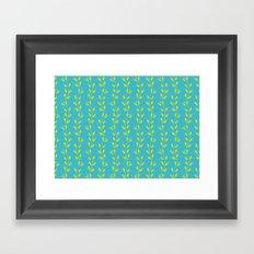 Tropical Vines Framed Art Print
