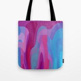 Bubblegum waves Tote Bag