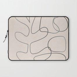 Abstract Line II Laptop Sleeve