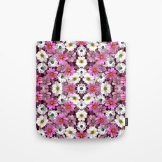Cosmos and Marigolds Tote Bag