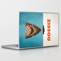 steve zissou Laptop & iPad Skins featuring Zissou by Wharton