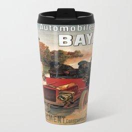 Vintage poster - Automobiles Bayard Travel Mug