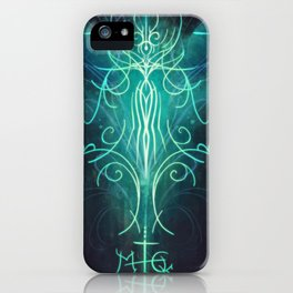 Sigil of Health, Beauty, and Wellness iPhone Case