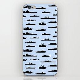 Battleship // Light Blue iPhone Skin