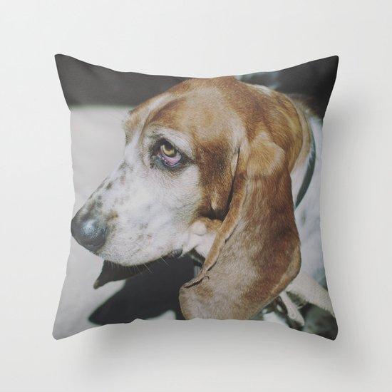 Tilly the wonderdog... Throw Pillow