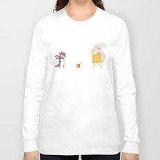The Last Acorn of Autumn Long Sleeve T-shirt