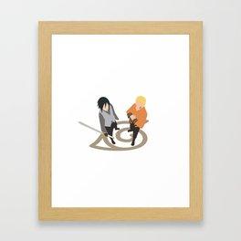 Shinobi Heroes Framed Art Print