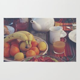 Food photography, fruit still life, kitchen wall art, bed & breakfast, food porn, fine art Rug