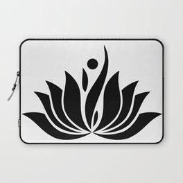 Black Logo Laptop Sleeve
