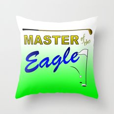 Master of the Eagle Throw Pillow