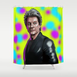Bon Jovi color me in Shower Curtain