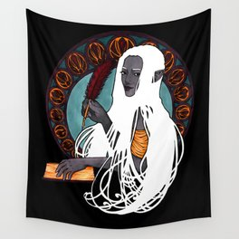 Evelyn the Historian Wall Tapestry