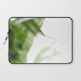 Peaceful green shades of graceful nature Laptop Sleeve