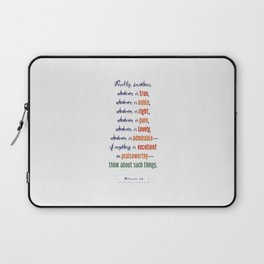 Think About Such Things . . . Laptop Sleeve