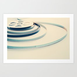 super 8 film III Art Print