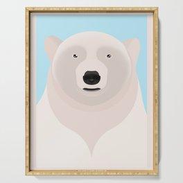 Polar bear Serving Tray