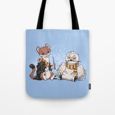 The Owl and The Weasel Tote Bag