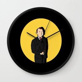 Tintin style Mycroft Wall Clock