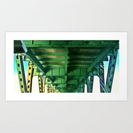 Tobin Bridge - North Bound Art Print
