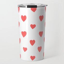 Hearts Travel Mug