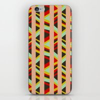 tribal iPhone & iPod Skins featuring tribal by sylvie demers