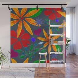Flower Fun Wall Mural