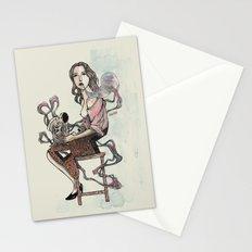 Zebra Girl Stationery Cards